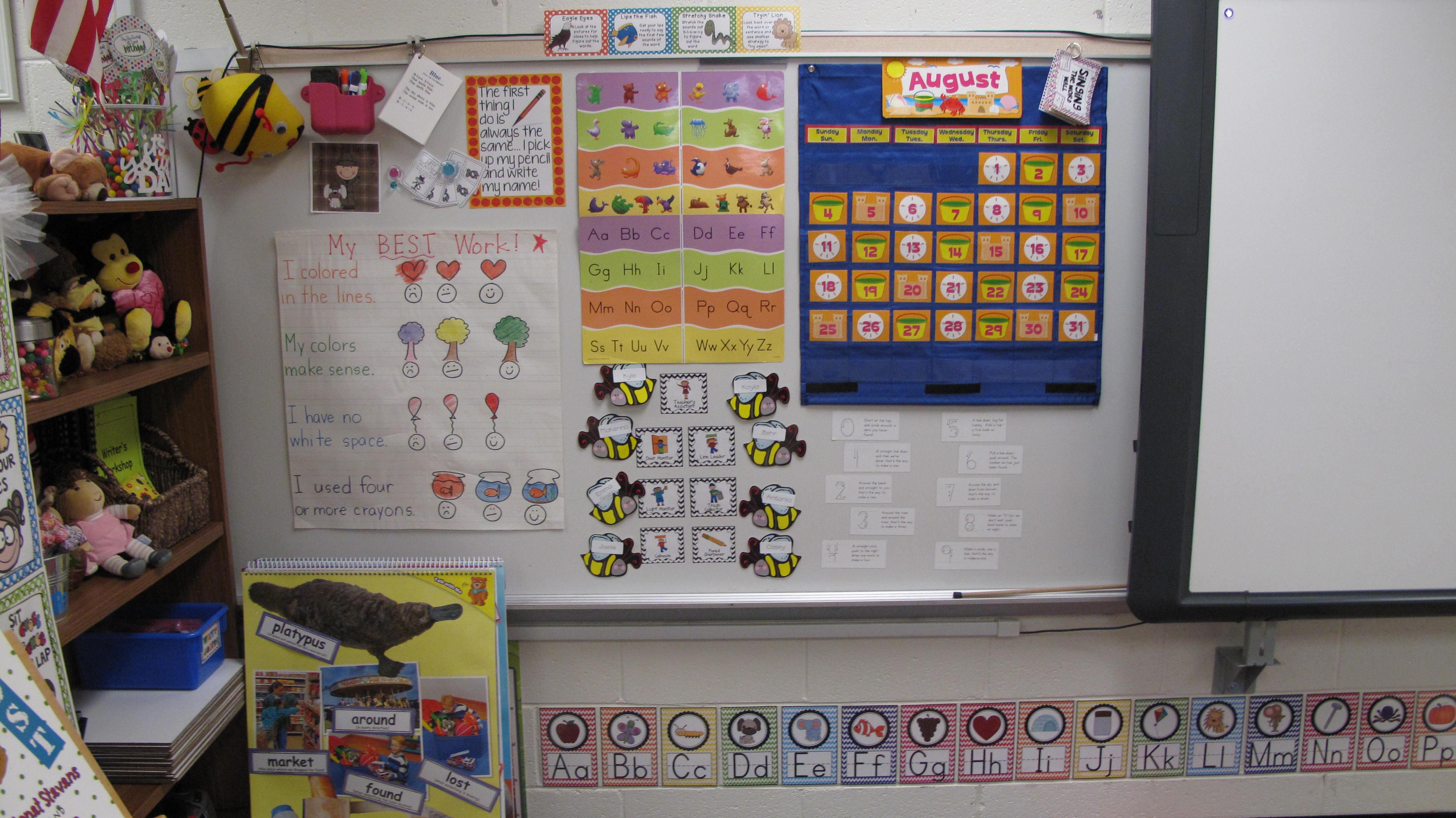 Classroom Calendar Display : Satisfied sunday classroom reveal hope high heels